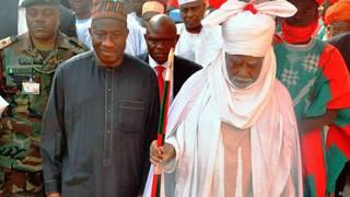 Goodluck Jonathan,  Emir de Kano