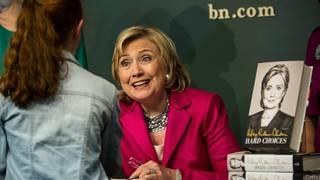 Hillary Clinton y su libro