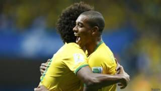ब्राज़ील की जीत जारी