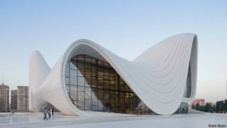 Centro Heydar Alivev | Foto: Iwan Baan