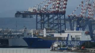 Embarcación danesa con armas sirias