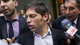 Ministro de Economía de Argentina, Axel Kicillof