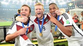 Alemania celebra el Mundial