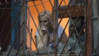 Mujer en Luhansk