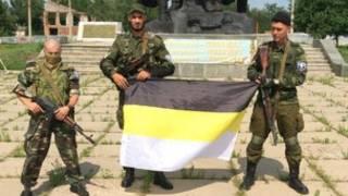 Rebeldes en Luhansk
