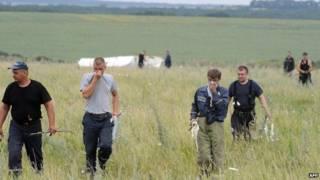 Investigadores de la OSCE