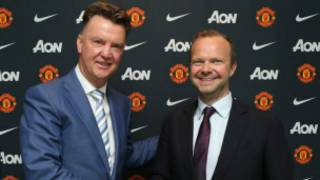Ed Woodward and van gaal