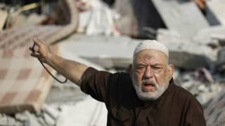 Palestino en Gaza