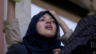 Pemakaman korban di Gaza