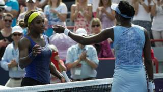 Serena Williams felicita a su hermana Venus
