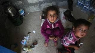 Refugiados piden ayuda