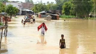 बाराबंकी में बाढ़