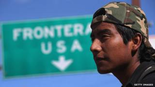 Menor inmigrante en camino hacia Estados Unidos. Foto: Getty Images.