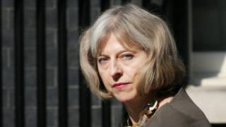 英國內政大臣特蕾莎·梅