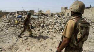 Soldados en Pakistán