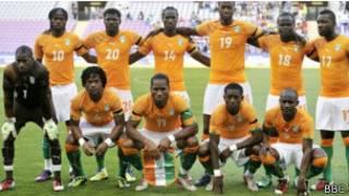 L'équipe ivoirienne de football