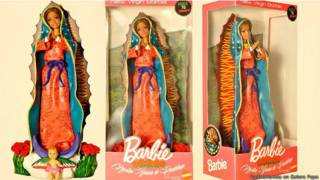 Barbie Virgen de Guadalupe