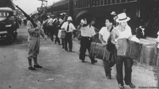 Presos japoneses peruanos en Panamá