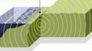Gráfico de un terremoto