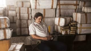 Wagner Moura en el papel de Escobar