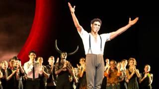 Carlos Acosta tras su última actuación en el Royal Opera House