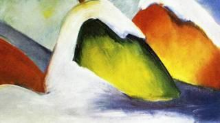 Фрагмент картины Франца Марка
