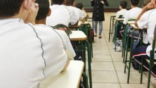 Sala de aula, em foto de arquivo (Foto: Pedro Ribas/ANPR)