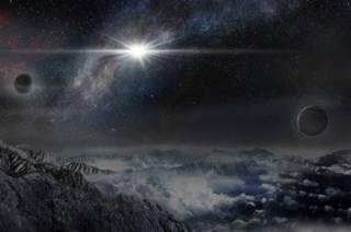 Ilustración de una supernova