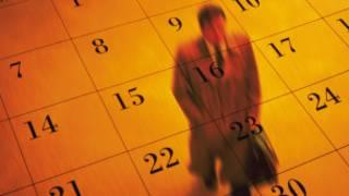Imagen de un hombre sobre un calendario