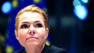Ministra de Integración, Inger Stojberg