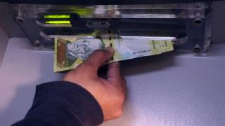 Un billete de 50 bolívares