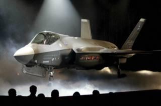 Avión militar F-35