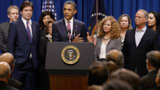 """Los """"Millonarios Patriotas"""" con Obama"""