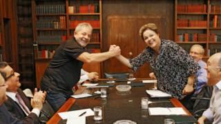 Joao Santana, Lula da Silva, Dilma Rousseff