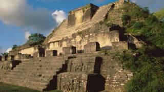Una construcción de los mayas