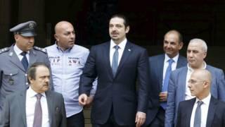 سعد الحريري يتعهد بمواصلة الحوار مع حزب الله