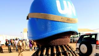 Soldados europeos de la ONU en África