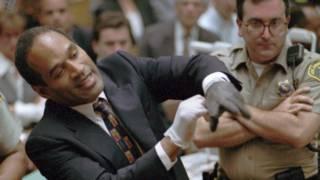 OJ Simpson durante su juicio