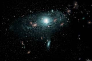 Ilustración del Universo