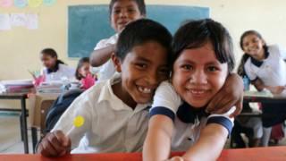 Niños en Oaxaca