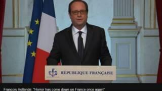 فرانسه کې پر ګڼې ګوڼې د لارۍ بېولو برید ۸۰ کسان وژلي