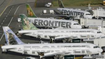 Aviones de Frontier Airlines