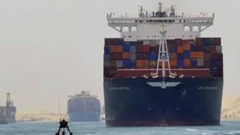 EGIPTO: El nuevo canal de Suez: la fara�nica obra que Egipto construy� en s�lo un a�o