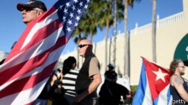 Protesta en Miami