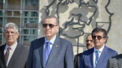 Erdogan en la Plaza de la Revolución