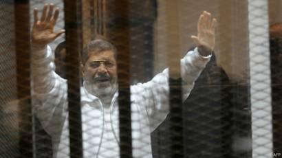 Mohammed Morsi, presidente deposto do Egito | Crédito: AFP