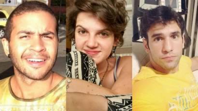 Fabrício Manque, Gopala Miron e Rodrigo Veloso | Foto: Arquivo pessoal