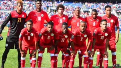 Selección nacional de fútbol de Cuba