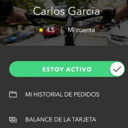 App de los repartidores