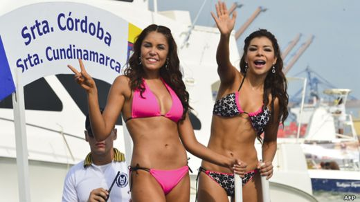 Evento de Miss Colombia